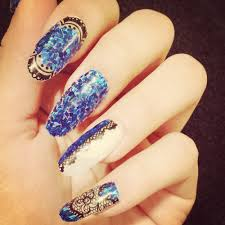 braided nail art how to woven nails gold silver nail design nail