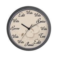 amazon com cafepress writer u0027s clock unique decorative 10