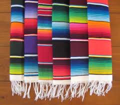 Serape Table Runner Blankets