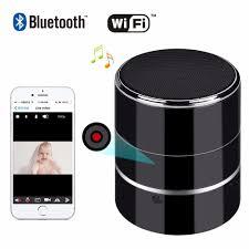 motion l wireless speaker bluetooth music player and hd 1080p wifi hidden camera wireless