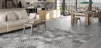 vintage style floor tiles presenting the stunning moments gris
