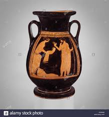 Classical Vases Terracotta Pelike Jar Classical Ca 460 U2013450 B C Greek Attic