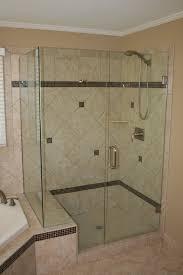bathroom spectacular chrome frame sliding glass shower doors for