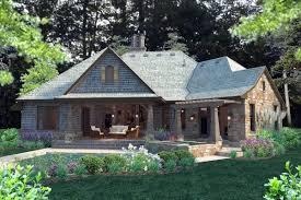 craftsman country house plans cottage house plans trend 4 rear elevation of cottage