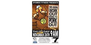 fitness thanksgiving day 90 minute work out before the