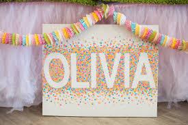 kara u0027s party ideas sprinkles confetti birthday party kara u0027s