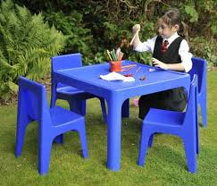 Plastic Tables And Chairs Kids Plastic Table And Chair Set All Chairs Design