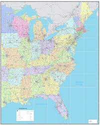 map eastern usa states cities map of eastern us cities eastern us wall map overvie thempfa org