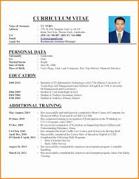 exle of curriculum vitae in malaysia stirring exle of resume to apply job template for application pdf