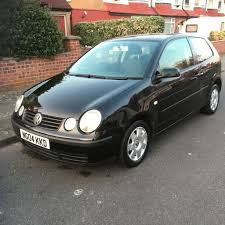 volkswagen polo 2004 1 4 tdi diesel 3 door black only 3 owners
