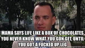 Life Is Like A Box Of Chocolates Meme - chocolate meme generator meme best of the funny meme