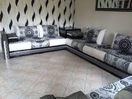 tissu pour canapé marocain beau tissu pour salon marocain moderne et salon marocain moderne