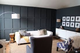 Dining Room Wainscoting At Window Height Our Dark Diyed Wainscoting Reveal Chris Loves Julia