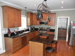 kitchen beadboard kitchen island cookie cutters frying pans