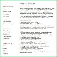 event coordinator resumes 5 event planner resumes applicationsformat info