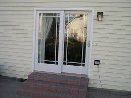 Patio Doors Exterior by Single Exterior French Door With Blinds Nyfarms Info