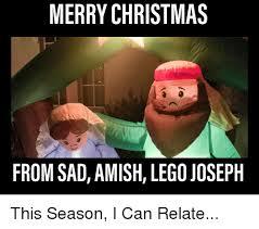 Shwing Meme - merry christmas from sad amish lego joseph christmas meme on me me