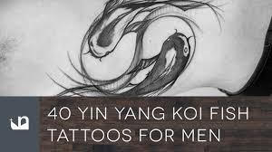 40 yin yang koi fish tattoos for