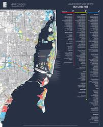 Google Map Miami by Map Shows Miami Condos Most Threatened By Sea Level Rise Miami