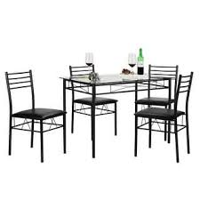 Glass Table Dining Room Sets by Glass Dining Room U0026 Kitchen Tables Shop The Best Deals For Oct