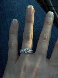 sapphire and wedding band sapphire or ruby wedding band weddingbee