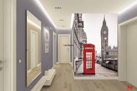 London Wall Murals Murals London View Red Cabin And Tower Big Ben 2 Options