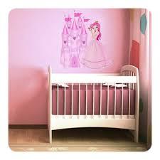 tickers chambre fille princesse sticker princesse pour décoration chambre bébé fille ou fillette