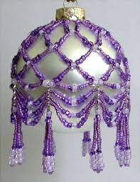 218 best beaded ornaments images on beaded