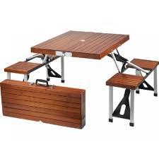 portable picnic table set outdoor patio tables ideas