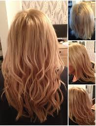 hairstyles for bonded extentions from short fine hair to gorgeous blonde layers half head pre