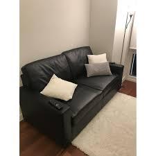 divano roma furniture black faux leather sleeper sofa aptdeco