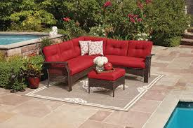 Patio Furniture In Ontario Ca by Hometrends Tuscany 4 Piece Sectional Set Walmart Canada