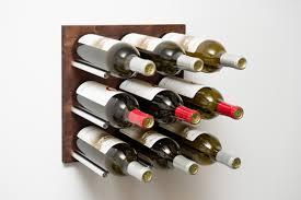 grain u0026 rod cork forward metal and wood wine rack panel 9