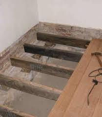 flooring how to install floating floor on concrete slab singular