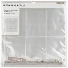 photo album refill pages 4x6 3 ring 4 x 6 photo album refill pages compare prices at nextag