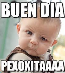 Buen Dia Meme - buen dia sceptical baby meme on memegen