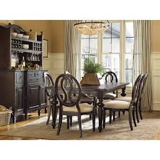 Rectangle Dining Room Table by Universal Furniture 987652 Summer Hill Rectangular Dining Table