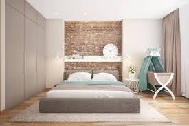 chambre à coucher mur en briques un bel accent dans la chambre à coucher