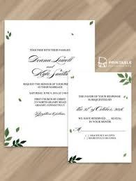 free pdf download scrolling border wedding invitation template