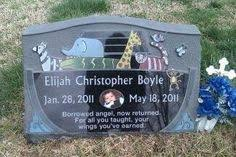 infant headstones 10 best memorial ideas images on grave markers
