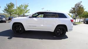jeep cherokee white 2016 jeep grand cherokee overland bright white clearcoat