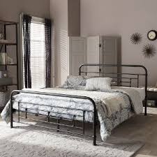 Iron Platform Bed Rc Willey Sells Metal Beds In Twin Full Queen U0026 King