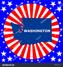 Washington State Map Clipart 35 by Red Stateblue State Red State Vs Blue State Infographic Political