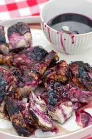 blueberry bbq chicken by vivian howard north carolina chef