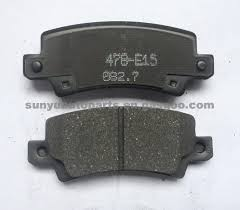 toyota co ltd toyota corolla brake pad 04466 02040 oem number 04466 02040