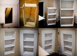 build recessed shelves bathroom luannoeme realie