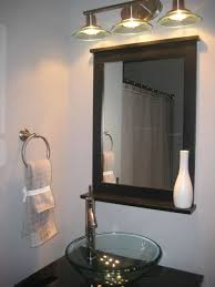 extendable bathroom mirror with light vanity decoration