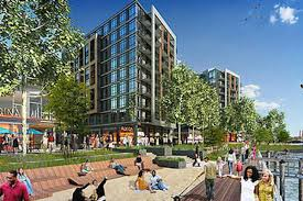 navy yard u0027s dock 79 tops off first phase complete curbed dc