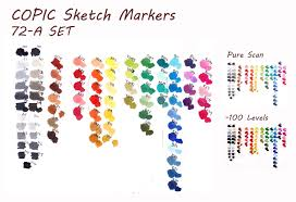 copic 72 a set color chart by almyki on deviantart