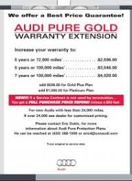 audi extended warranty worth it audi protection extended warranty best price on it